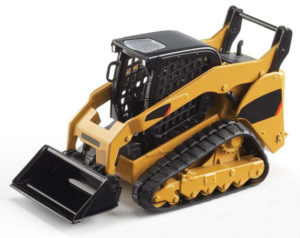 Catipillar Skidsteer traction with carbide studs